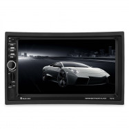 7021G 7 inch Vehicle MP5 Player 2 Din Bluetooth 1080P Video Multimedia GPS FM Radio Rear Camera Remote Control