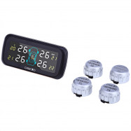 U903 4 External Sensors Pressure Monitoring System Car TPMS PSI BAR Diagnostic Tool