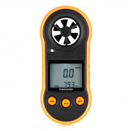 RZ818 Mini Handheld Digital Wind Speed Temperature Anemometer