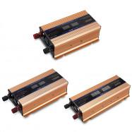 XUYUAN DC 12V to AC 220V Car Solar Power Inverter Converter with USB Port
