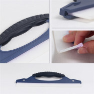 Car Window Cleaning Wiper Care Windowshield Scraper Soft Silicone Cleaner Equipment Auto Glass Washing Tool