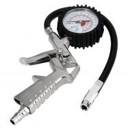 PCT - 8508 Car Digital Tire Pressure Gauge Manometer Tester Air Inflator with Flexible Hose