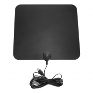 Digital HDTV Antenna 50 Miles Range USB Power Supply