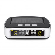 CHESHITONG TY07 Car TPMS Solar Powered Tire Pressure Monitoring System