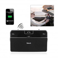 BT LD - 168 Hands Free Vehicle Mounted Bluetooth Speakerphone with Multiuse