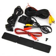 PZ430 2 in 1 Waterproof Car Parking Sensor Backup Reverse Radar Detector Rearview Camera