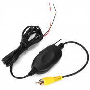 2.4G Wireless Color Video Transmitter Receiver Kit for Car DVD Monitor Rear View Camera Reverse Backup