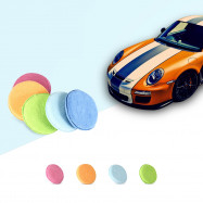 Dedicated Circular Fiber Polishing Waxing Sponge for Car
