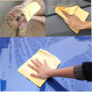 Car Wash Towel Deer Quick-drying Soft Vehicle Care Cleaning Cloth