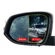 2Pcs Car Anti Fog Rainproof Rear View Mirror Window Protective Film  Nano Coating