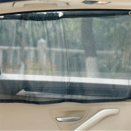 2Pcs New Car Window Curtain Sunshade UV Protection Side