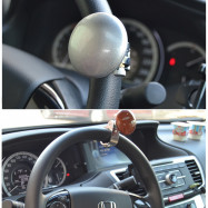 Car Steering Wheel Ball Booster Strengthener Control Power Handle