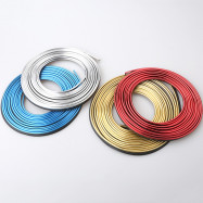 5m Car Refitting Accessories Interior Moulding Strips Decoration Line