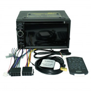 6116 Car Stereo DVD Player with 6.2 inch Capacitive Touch Screen