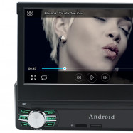RM - CL0013 Universal 7 inch Single Din Retractable Android 6.0 Car DVD Player