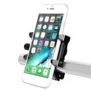 Quelima Universal Motorcycle Phone Holder Handlebar Aluminum Alloy Bicycle GPS Support Bike Accessories