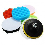 Colorful Buffing Polishing Sponge Pad Waxing Set for Car