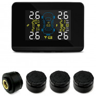 CAREUD U906C Wireless Car Tire Pressure Monitoring System Temperature Battery Voltage Monitor