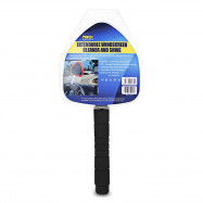 TIROL T24730 Car Window Windshield Cleaner Brush Microfiber Adjustable Handle