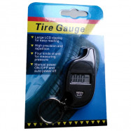 Digital Display Electronic Mini Keychain Tire Pressure Gauge