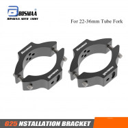 2SETS BOSMAA G25 Motorcycle Headlight Bracket Mounting Relocation Tube Fork