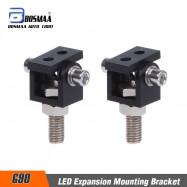 BOSMAA 2SETS G90 Hole 8MM Universal Motorcycle LED Headlight Expansion Mounting