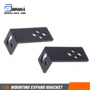 BOSMAA L70 Universal Mount Bracket Motorcycle Headlight Driving Light Spotlight