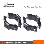 2sets Motorcycle Headlight Bracket Mounting Relocation Tube Fork Driving