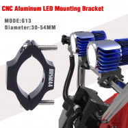 2SETS BOSMAA G13 Motorcycle Headlight Mounting Brackets