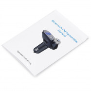 G95 Car Bluetooth MP3 Player Wireless FM Transmitter Dual USB Hands-free Call Voltage Detection