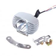 Motorcycle LED Headlight 15W Car Fog Light DRL Spotlight 6000K White