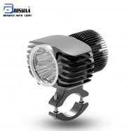 BOSMAA Motorcycle Turbo Spotlight LED Headlight