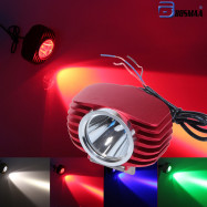 10WMotorcycles LED Headlight Spotlight For Motor Car Driving Hunting Lamp