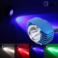 10W blue color  Motorcycles LED Headlight Spotlight For Motor Car Driving  Lamp