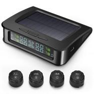 ZEEPIN C220 Tire Pressure Monitoring System Solar TPMS with 4 External Sensors