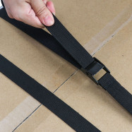 TIROL T25331 Luggage Rack Polyester Banding Belt 2pcs