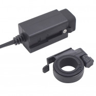 0204X - 2 Practical USB Port Car Motorcycle Charger