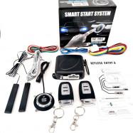 Car PKE Keyless Entry Alarm System Push Button Remote Starting Device