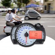 LCD 7-color Display Motorcycle Digital Speedometer