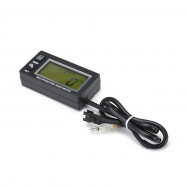 HM028 LCD Multifunction Hour Meter Tachometer for Small Engine Boat Motorcycle Generator