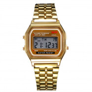 New Design Fashion Casual Simple Stainless Steel Digital Sport Watch