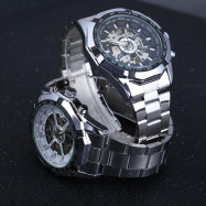 Winner W340 Stainless Steel Strap Automatic Mechanical Watch for Men