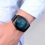 CACGO K89 Bluetooth 4.0 Heart Rate Monitor Smart Watch with Three-axis Accelerometer Loudspeaker