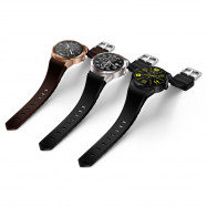 CACGO K98H 3G Smartwatch 1.3 inch Android 4.1 MTK6572A 1.2GHz Dual Core 4GB ROM IP54 Waterproof Bluetooth 3.0 GPS