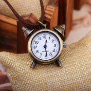 Vintage Small Alarm Clock Pocket Watch