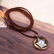 Vintage  Pentagram Pocket Watch  Rotatable 360 Degrees