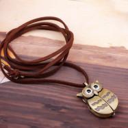 Cute Owl Pocket Watch
