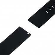 Soft Silicone Watch Bands Strap for Amazfit Huami Classic watch Replacement BLACK