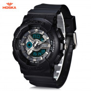 HOSKA HD058S Double Movt Wristwatch for Children BLACK