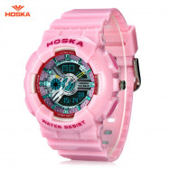 HOSKA HD058S Double Movt Wristwatch for Children PINK